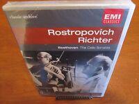 Mstislav Rostropovich Sviatoslav Richter DVD Brand New Beethoven Mendelssohn EMI
