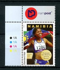 Namibia 2012 MNH Johanna Benson London 2012 Paralympics Gold Medal 1v Set Stamps