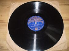 FALLING LEAVES/LITTLE STEEPLE TO A STAR,AMBROSE 1941 78 RPM,SHELLAC RECORD,F7848