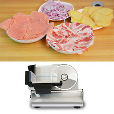 220V Electric Frozen Meat Cutting Machine Stainless Steel Roller Mutton Slicer