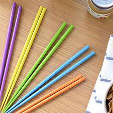 5 Pairs Chopsticks Set Chinese Chopstick Japanese Korean Pastel Noodle Chinese