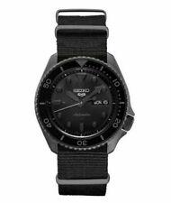 Seiko 5 Sports Men's Black Watch - SRPD79