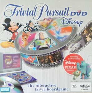 Disney TRIVIAL PURSUIT  Board Game  DVD  Edition