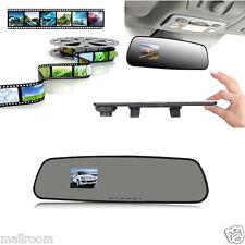 "2,4"" Rückspiegel Video Recorder HD 1080P Mirror Auto DVR Dashcam Monitor Kamera"