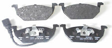 GENUINE AUDI A2 A3 VW GOLF OCTAVIA FRONT BRAKE PADS 4 280MM DISCS 1J0 698 151 G
