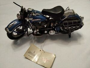 Franklin Mint 1948 Harley-Davidson Motorcycle Panhead 1:10 (READ DESCRIPTION)