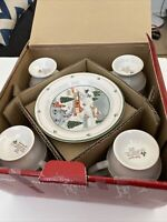 SANGO China SILENT NIGHT Pattern 12 Piece Set  Service for 4 Lot  DISCONTINUED