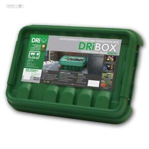 Elektronikbox IP55 wetterfest für Außen Garten Kabelbox Verteilerbox Kabelkiste