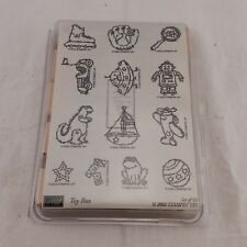 New Stamp Set from Stampin' Up! - Toy Box, 13 Stamps of Toys, Retired 2002