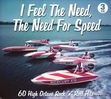 I FEEL THE NEED, THE NEED FOR SPEED  - 60 ROCK'N'ROLL HITS (NEW SEALED 3CD)