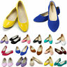 Women Mutli-Colors Casual Comfy Soft Ballet Flats Slip On Shoes Summer Autumn
