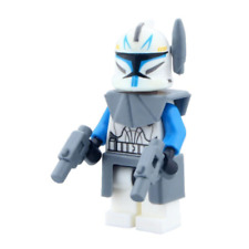 Star Wars Clone Trooper Captain Rex Mini Figure with body armour Lego Compatible