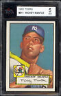 1952 Topps #311 Mickey Mantle KSA 5 Gorgeous color & Strong corners!