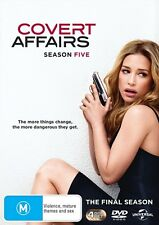 Covert Affairs : SEASON 5 FINAL : NEW DVD