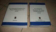 LES ANTIQUITES ROMAINES DE DENYS D'HALICARNASSE - vol 1 et 2 - dionysius - TBE