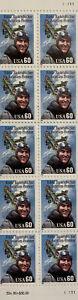 SCOTT # 2998 EDDIE RICKENBACKER Partial Sheet of 10 Stamps MNH 1995