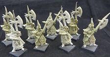 Warhammer Dark Elf Black Guard make great Executioneers oop metal army lot