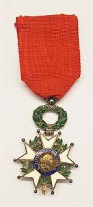 Médaille Chevalier de la Légion d'Honneur, 1870, Honneur et Patrie, argent