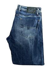 Original Diesel Kurren 008TA Reg Straight Leg Blue Denim Jeans W32 L30 ES 7290