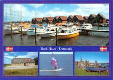Danmark Bork Havn multiviews Harbor Boats Bateaux Surfer