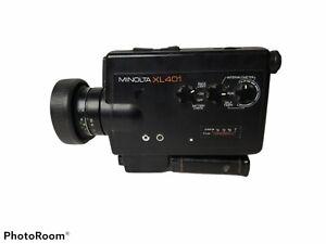 Minolta XL 401 Super 8 Movie Camera - Excellent Condition