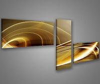 Quadri moderni astratti 180 x 70 stampe su tela canvas con telaio MIX-S_388