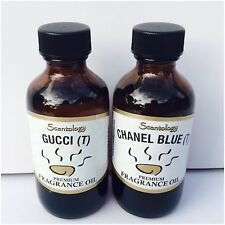 GUCCI & CHANEL BLUE ~ HOME DIFFUSER WARMER FRAGRANCE ESSENTIAL OILS 2OZ BIG!