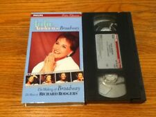 JULIE ANDREWS MAKING OF BROADWAY THE MUSIC RICHARD RODGERS VHS SOUND OF MUSIC