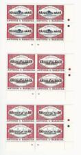 Barbuda, Postage Stamp, #1155-1157 Mint NH, 1991 Block, JFZ