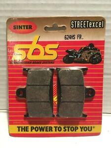 SBS MOTORCYCLE BRAKE PADS, SBS 624HS, TRIUMPH 1200 TROPHY, SUZUKI GSX 1100
