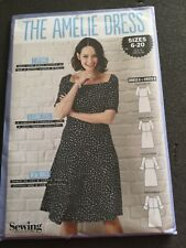 The Amelie Dress Simply Sewing Pattern Uncut sizes 6-20