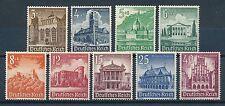 Ungeprüfte Briefmarken aus dem deutschen Reich (1933-1945) mit Postfrisch und Bauwerke
