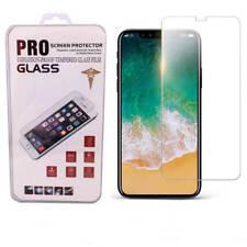 3x Panzerfolie für Apple iPhone X Schutzfolie Glas Tempered 9H Panzerglas Folie