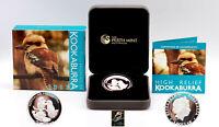 2013  AUSTRALIA KOOKABURRA 1 Oz HIGH RELIEF SILVER COIN WITH BOX & COA