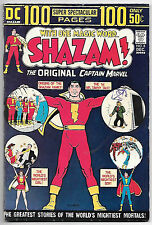 Shazam! #8 (DC 1973, vf- 7.5) 100 page issue. Price guide value $37.00 (£30.00)