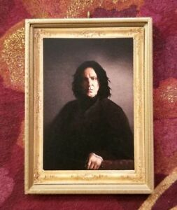 Harry Potter Severus Snape 1/6 Scale Playscale Handmade Gift Wall Art Decor