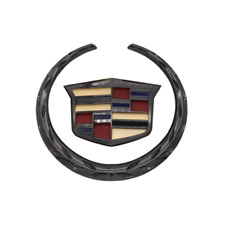 Black Color Cadillac Car Front Grille Ornament Emblem Badge for XTS ATS Escalade