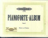 PIANOFORTE-ALBUM Band 1 - Klavier vierhändig