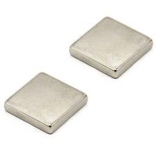 25 x 25 x 5mm N42 Neodymium Magnet - 11kg Pull (Pack of 2)