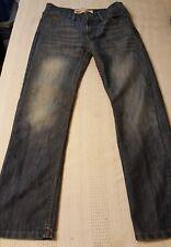 Levis 514 slim straight jeans unisex reg blue size 16 Regular nice 28X28