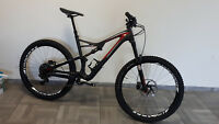 Specialized Stumpjumper FSR Expert Carbon 650B carb/red/wht 150mm size L