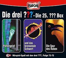 3 CDs * DIE DREI ??? (FRAGEZEICHEN) - BOX 25 - FOLGEN 73-75 # NEU OVP =