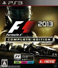 Used PS3 F1 2013 Complete Edition SONY PLAYSTATION 3 JAPAN JAPANESE IMPORT