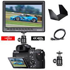 F100 7-inch 1280x800 IPS Screen Camera Field Monitor support 4k input HDMI Video