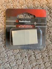 Radioshack In-Line Phone Coupler Telephone Jack Brand New 2790024