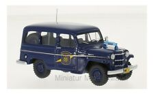 #49538 - NEO JEEP WILLYS Stationwagon-Michigan State Police - 1954 - 1:43