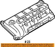 FORD OEM-Engine Valve Cover 2F3Z6582BA