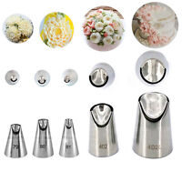 1/5pc Russian Nozzles Juju Stainless Steel Icing Piping Tip DIY Pastry Decorate