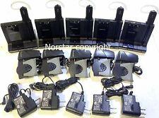 Lot of 5 Plantronics SAVI W740 Convertible Wireless DECT Headset System W/ HL10
