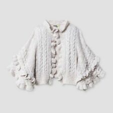 Genuine Kids from OshKosh Infant Girls Poncho Sweater -...